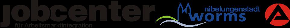 Logo Jobcenter für Arbeitsmarktintegration Worms